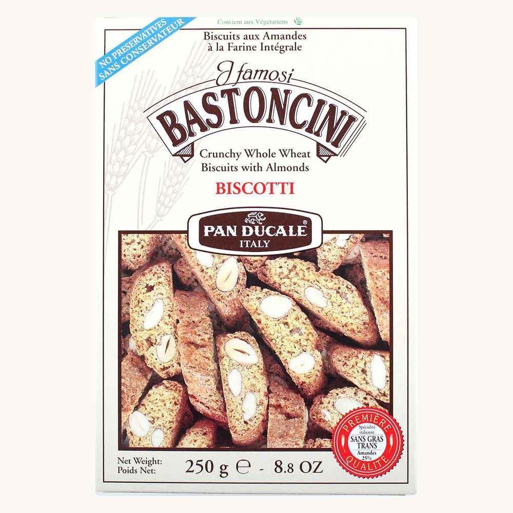 Bastoncini Crunchy Whole Wheat Biscotti with Almonds