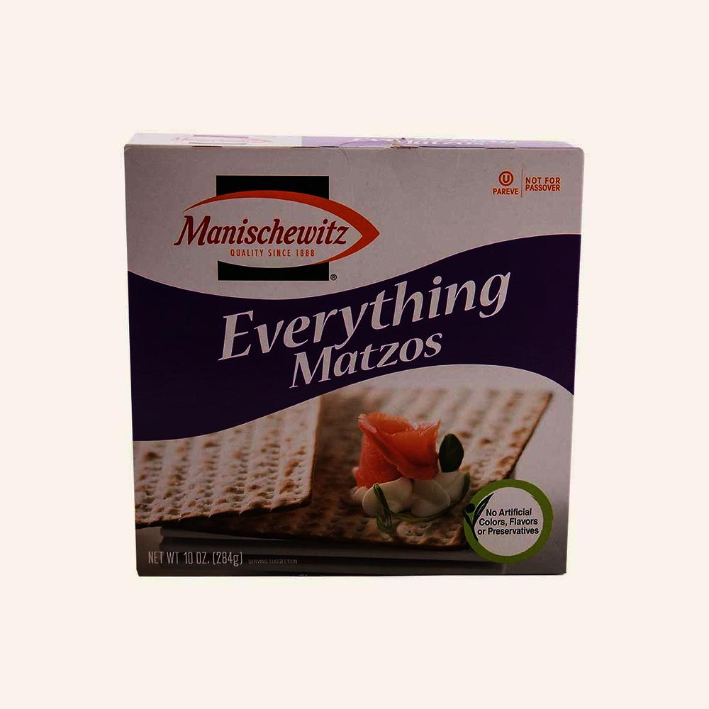 Manischewitz Everything Matzo