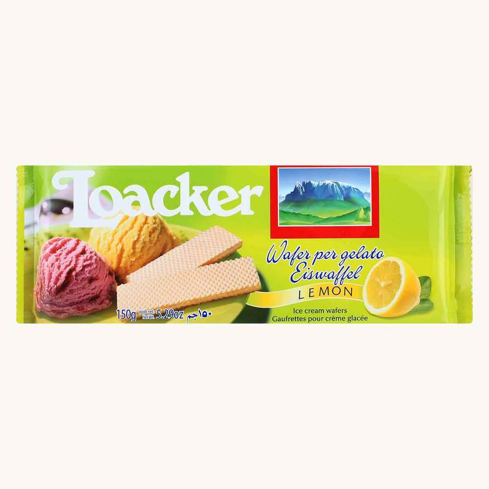 Loacker Lemon Wafers