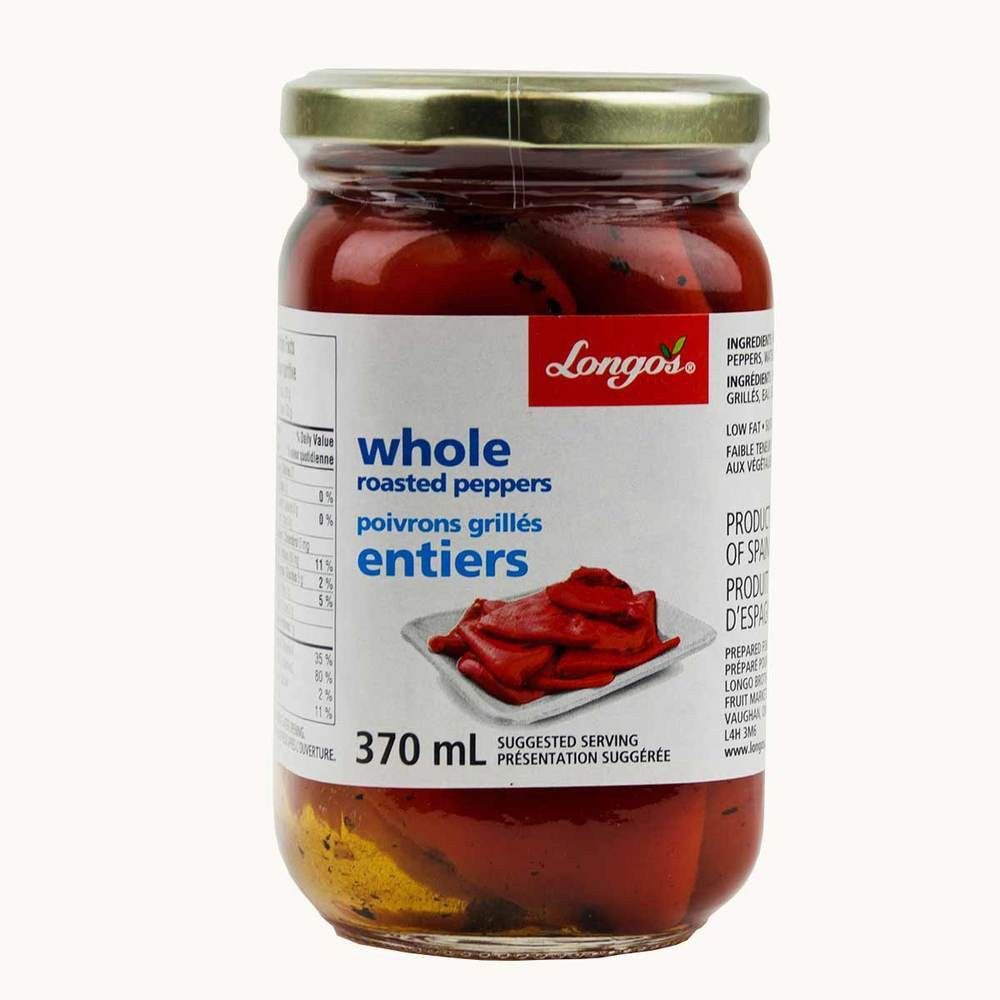 Longo's Whole Roasted Peppers