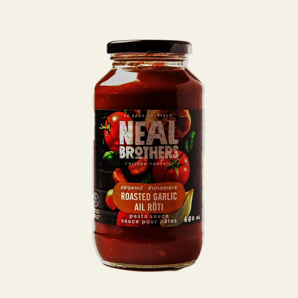Neal Brothers Organic Roasted Garlic Pasta Sauce