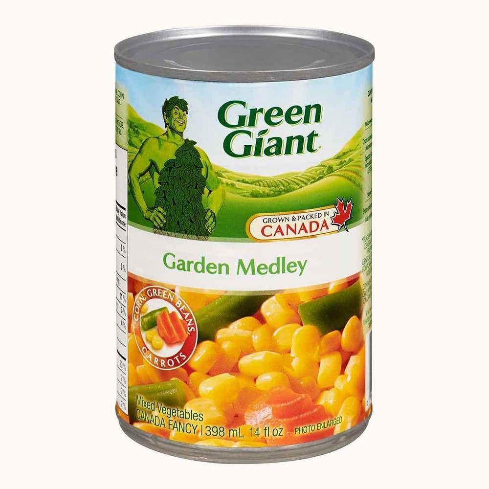 Green Giant Garden Medley Vegetables 398mL