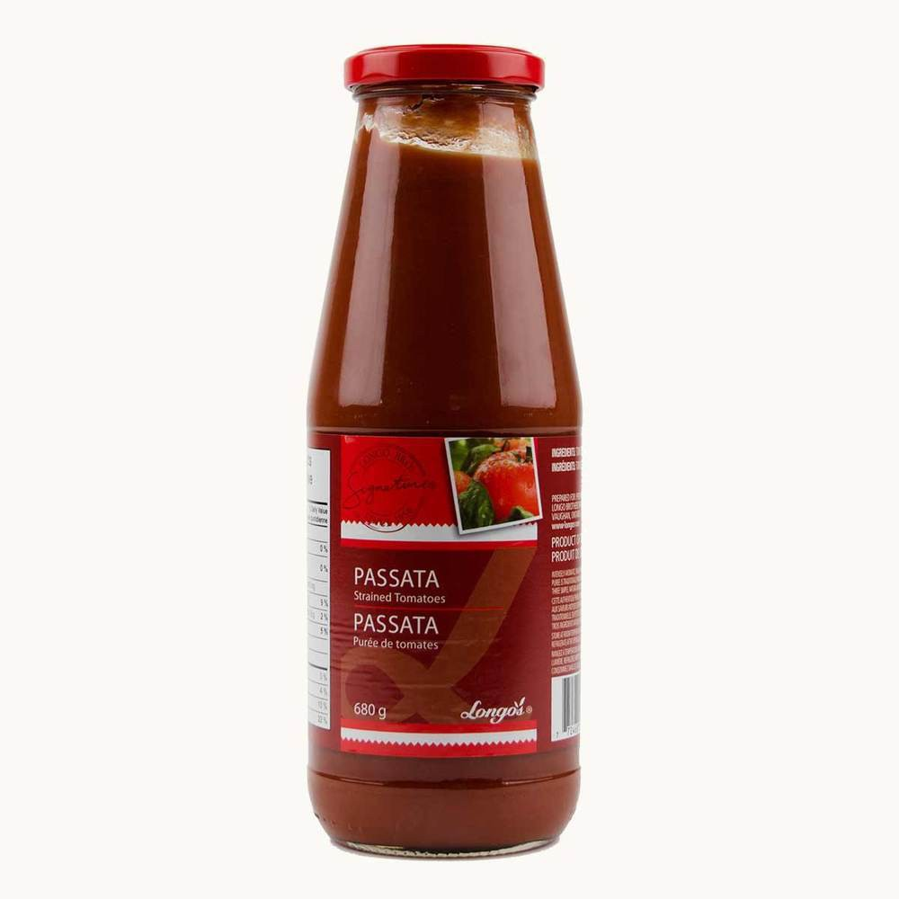 Longo's Passata Strained Tomatoes