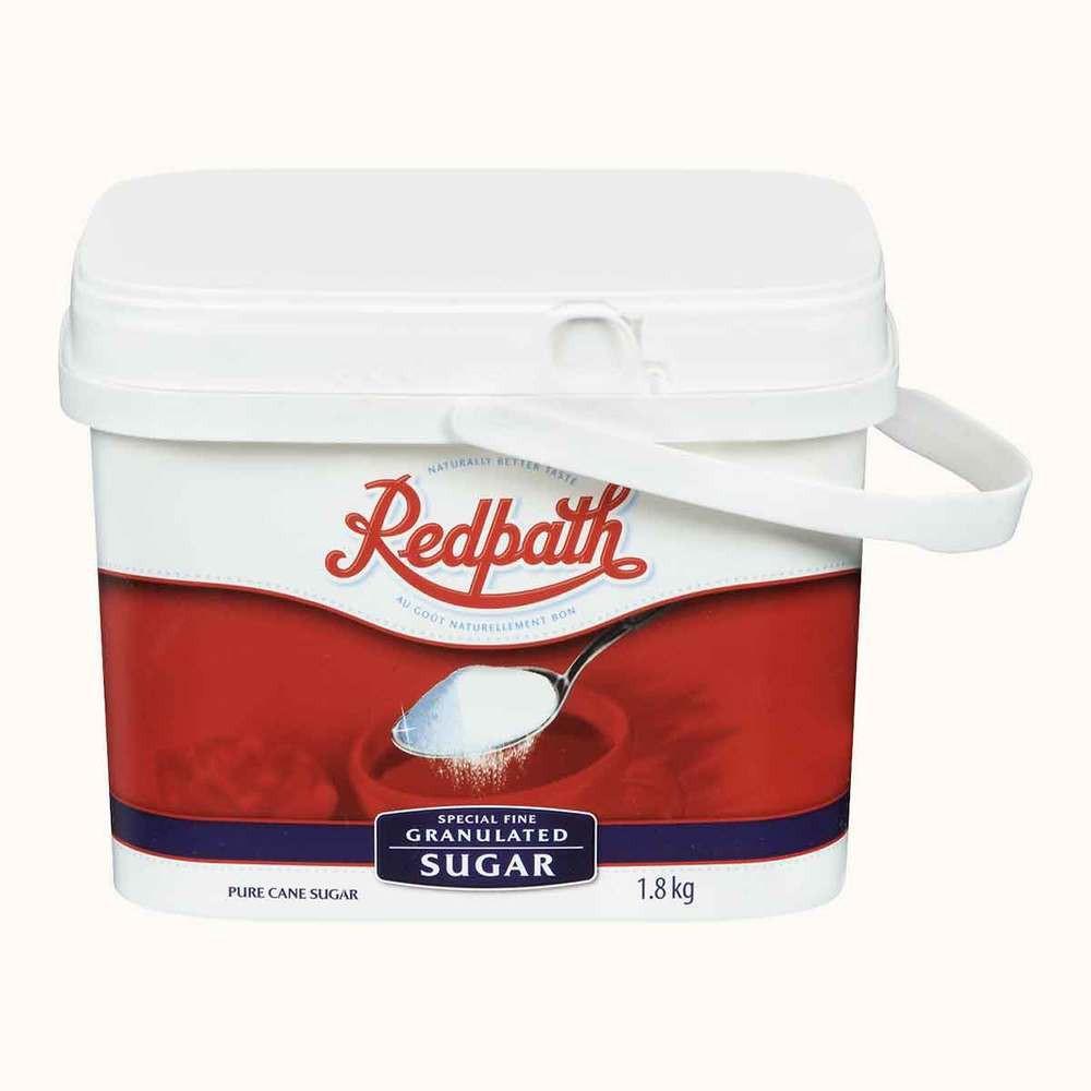 Redpath Special Fine Granulated Sugar Tub