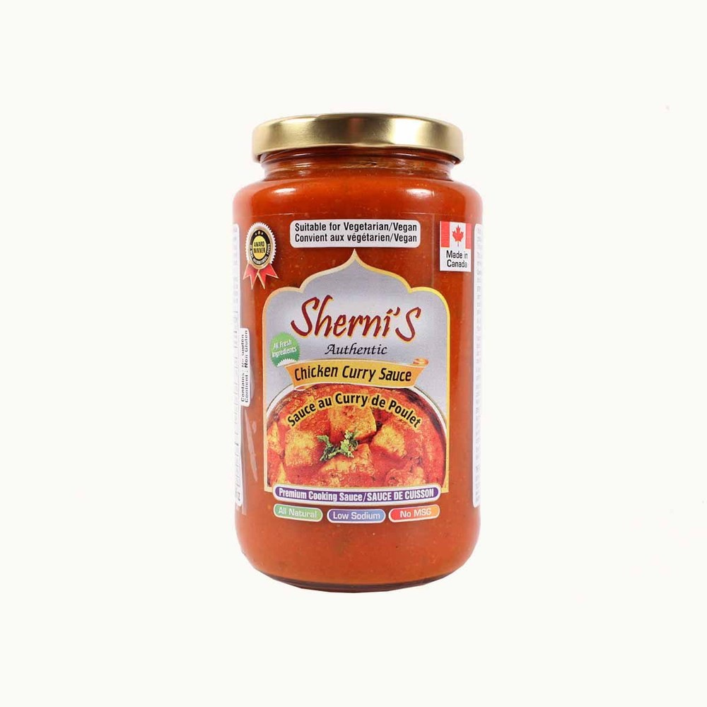 Shernis Chicken Curry Sauce