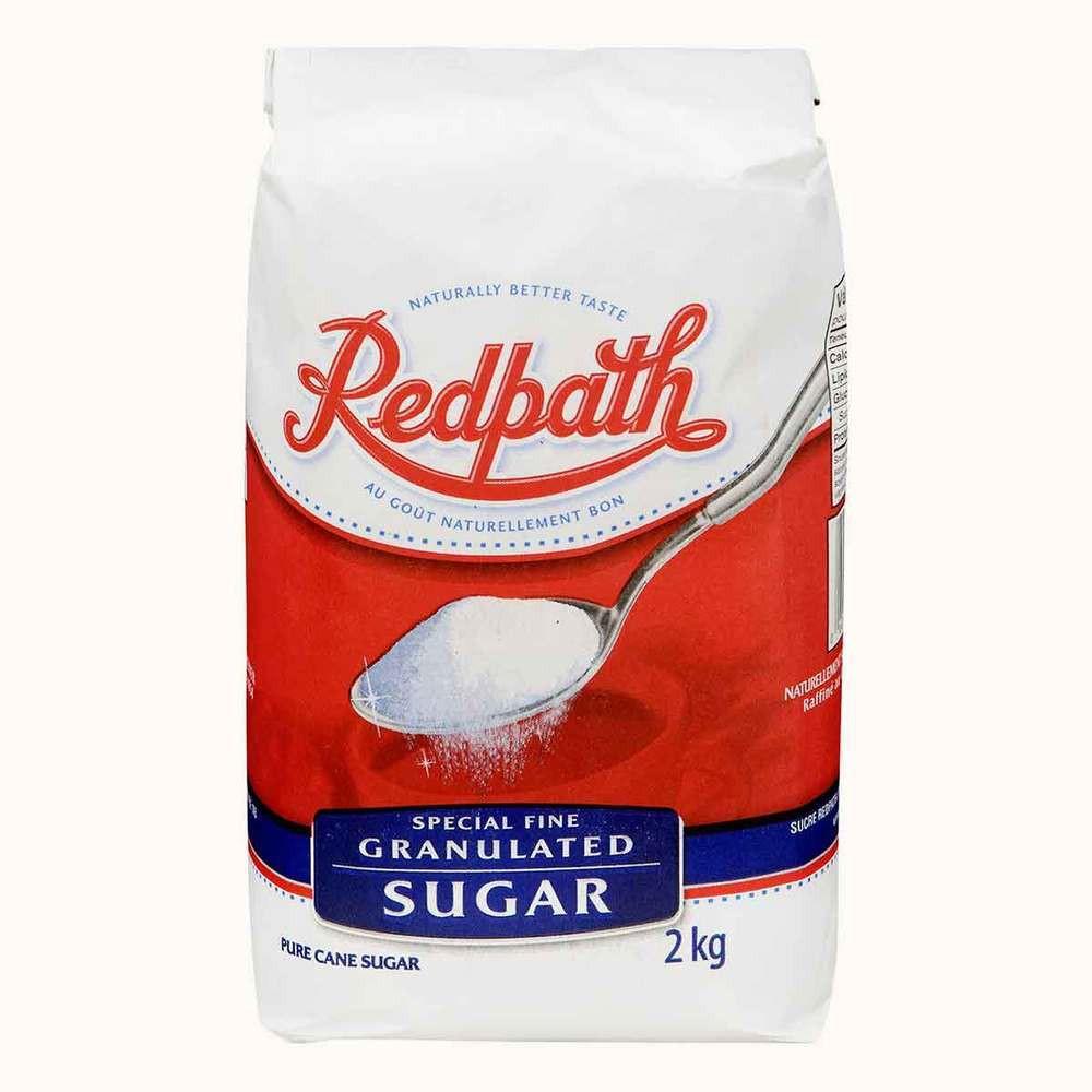 Redpath Granulated White Sugar
