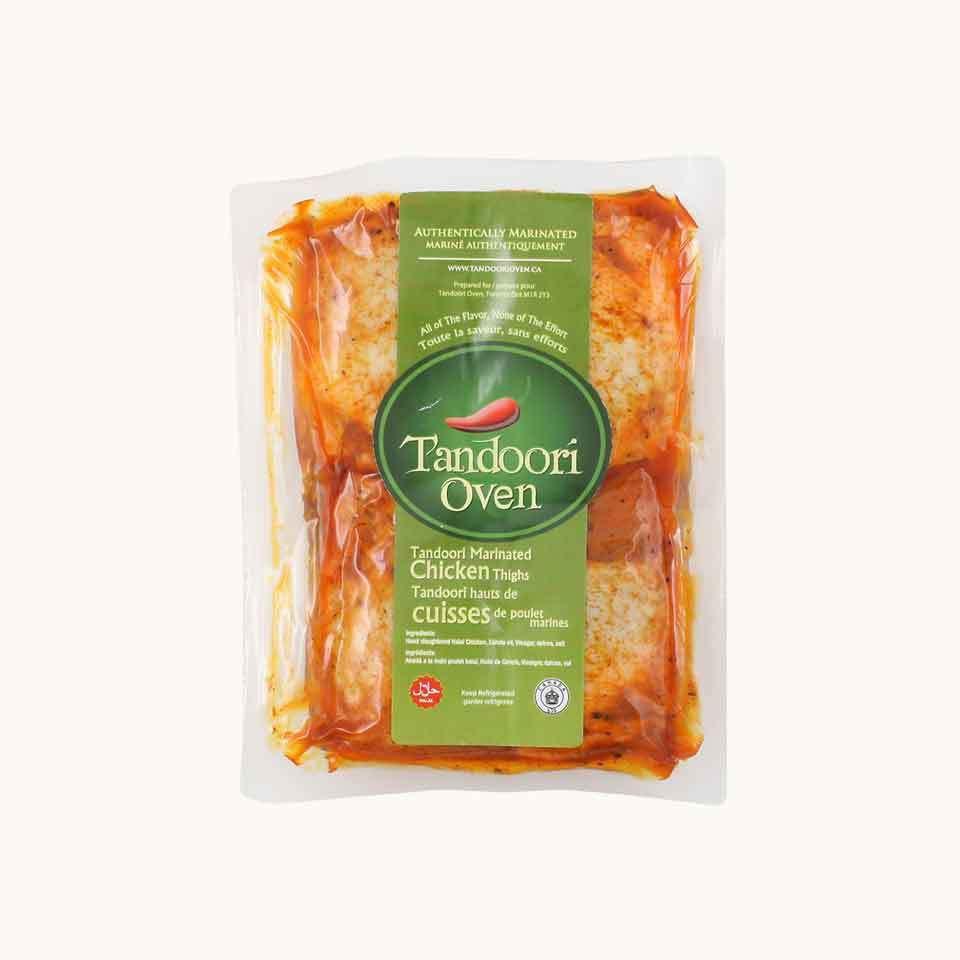 Halal Tandoori Oven Marinated Chicken Thighs