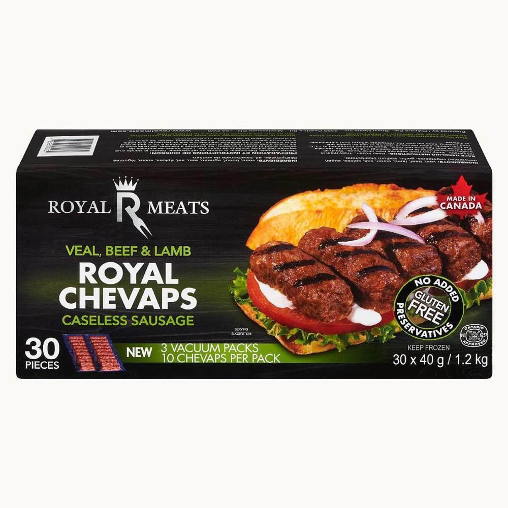 Royal Meats Royal Chevaps Caseless Sausage