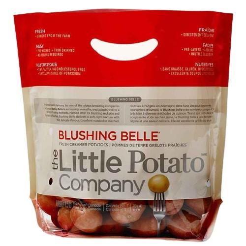 Blushing Belle fresh creamer potatoes