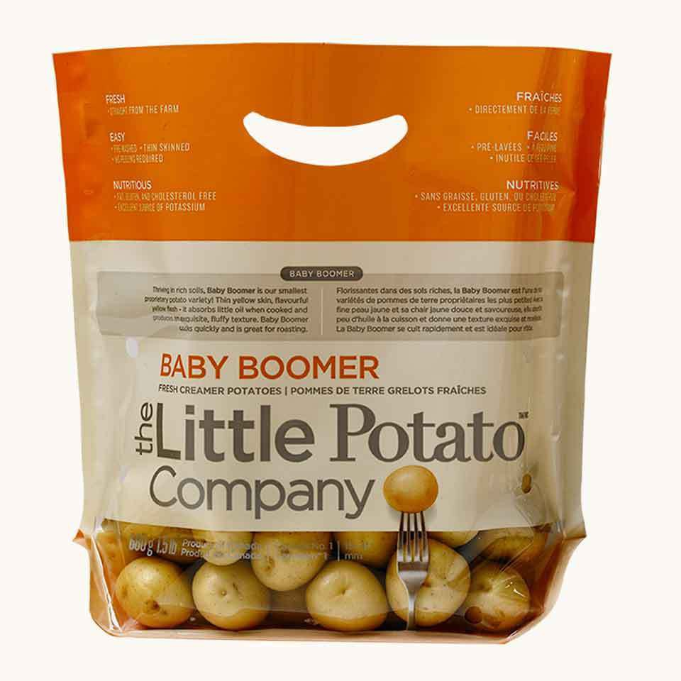 Baby Boomer Gold Potatoes, The Little Potato Company