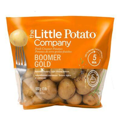 Baby boomer gold potatoes