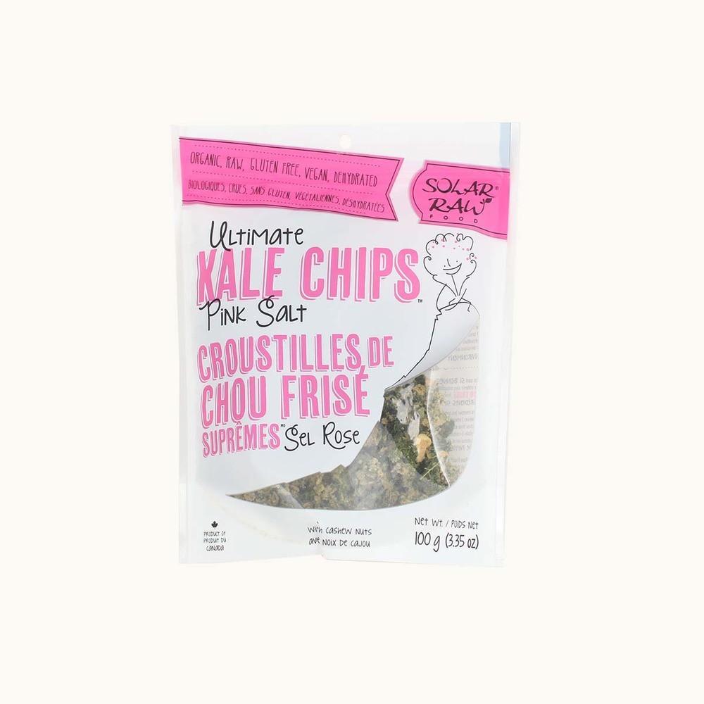 Solar Raw Ultimate Kale Chips Pink Salt