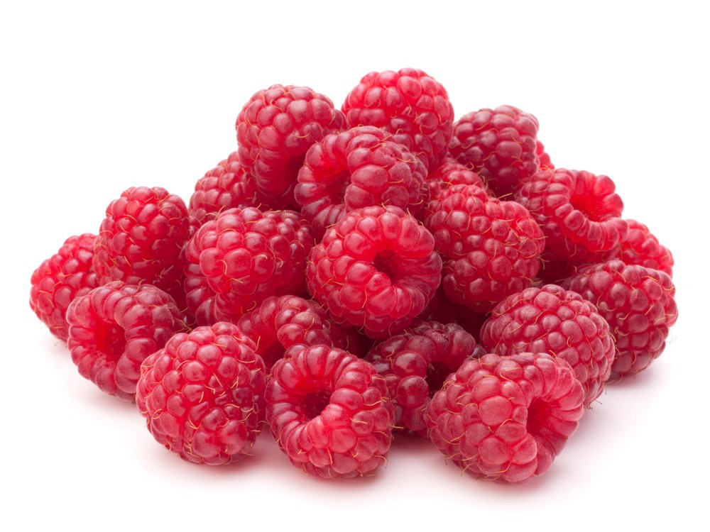 Organic raspberries 170 g