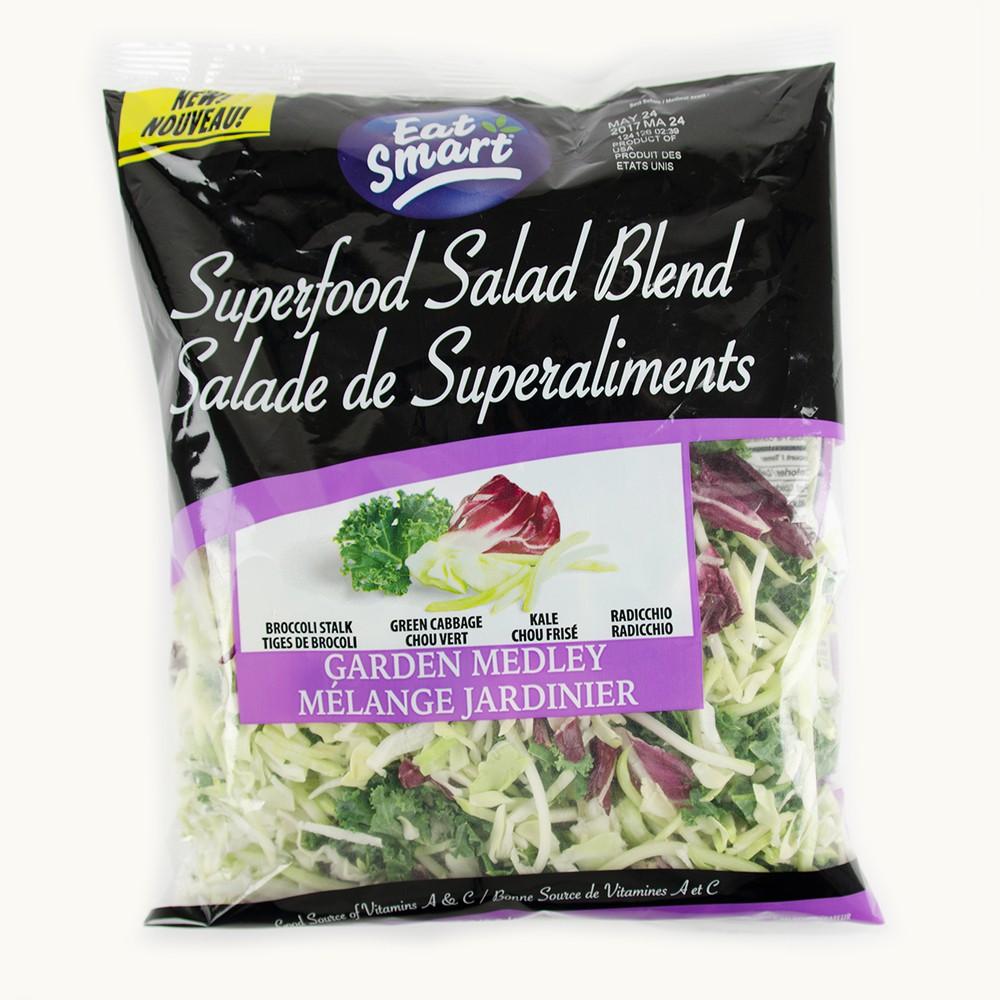 Eat Smart Superfood Salad Blend Garden Medley