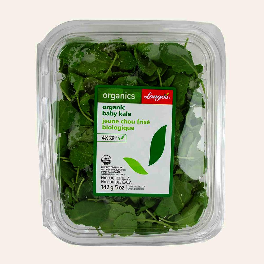 Longo's Organic Baby Kale