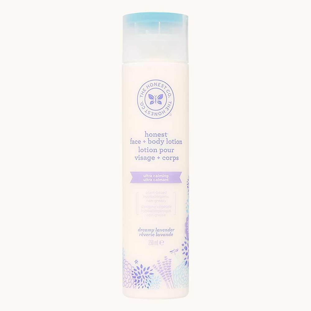 The Honest Company Face and Body Lotion Dreamy Lavender