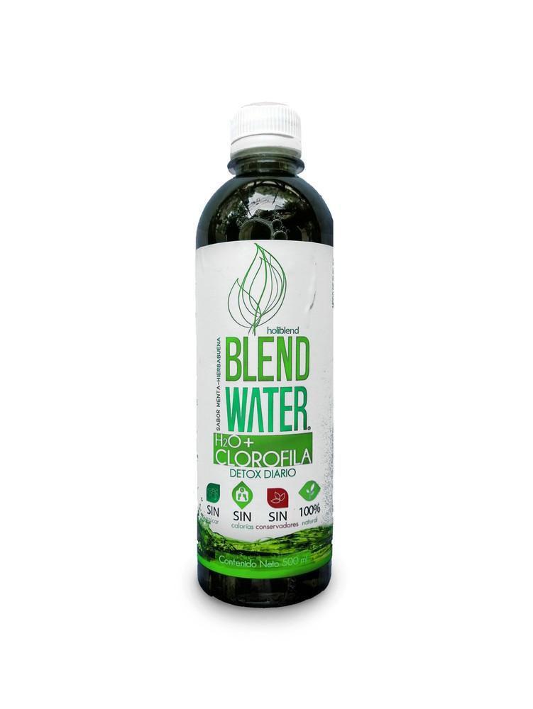 Bebida con clorofila