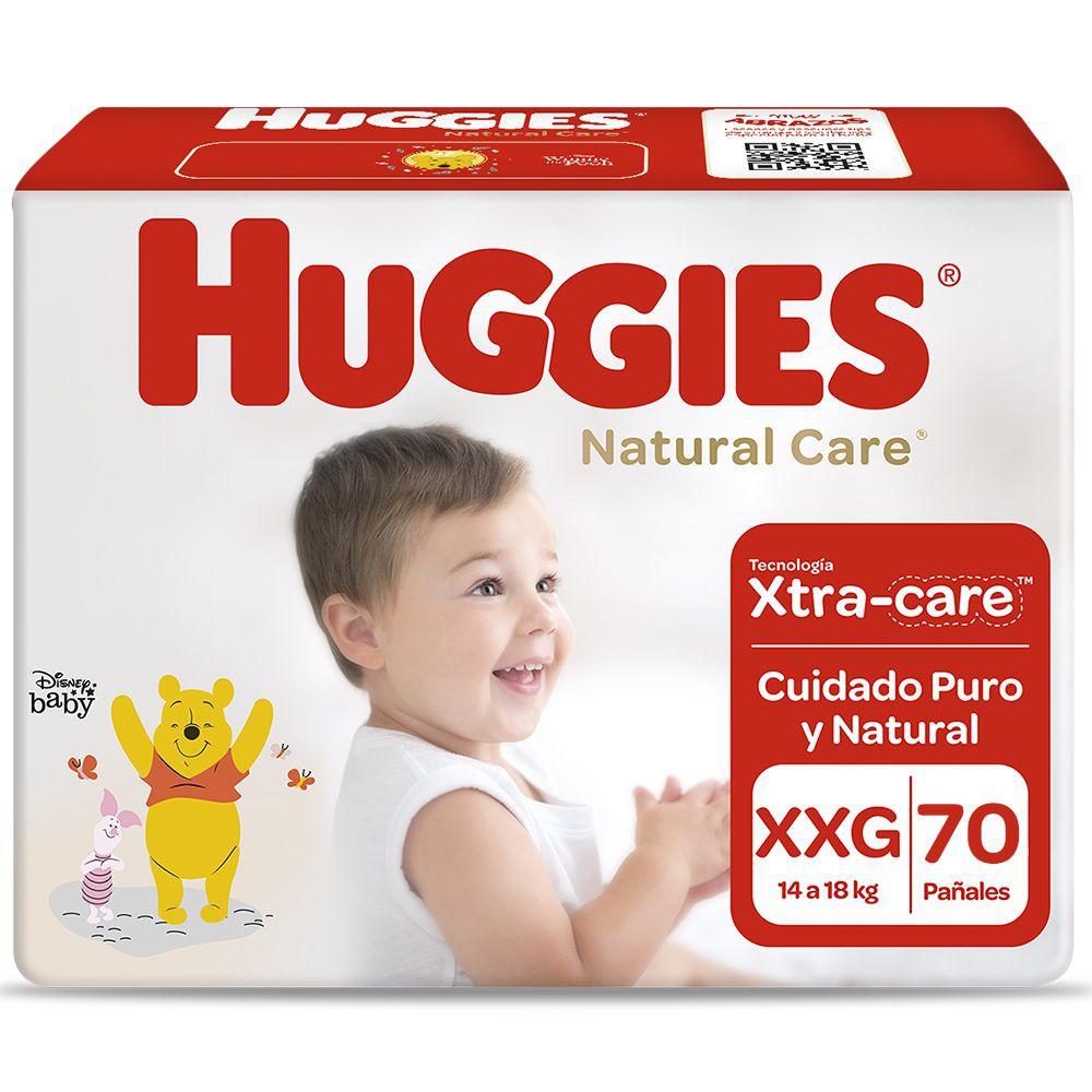 Pañales Natural Care talla XXG