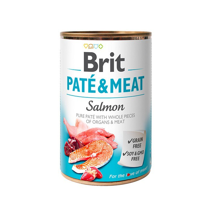 Lata pate sabor salmon 400 gr