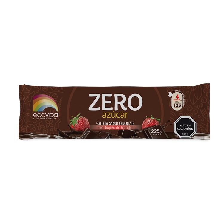 Galletas de chocolate con frutillas zero azúcar