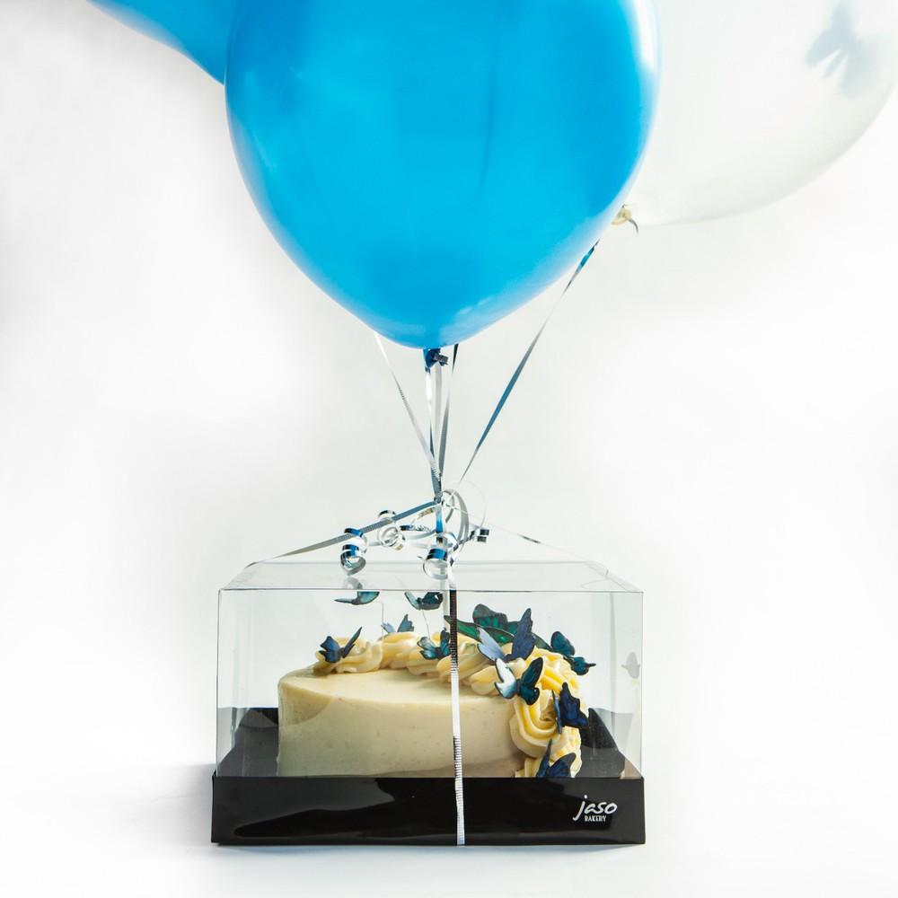 Pastel con globo colección del día de la madre