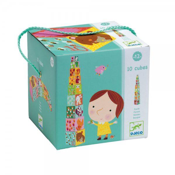 Blocks for infants 10 forest blocks