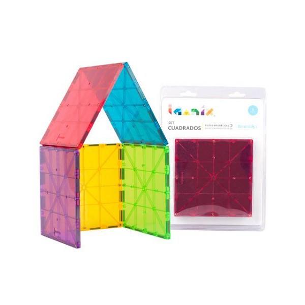 Imanix set 5 cuadrados grandes