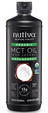 Aceite MCT Orgánico Concentrado