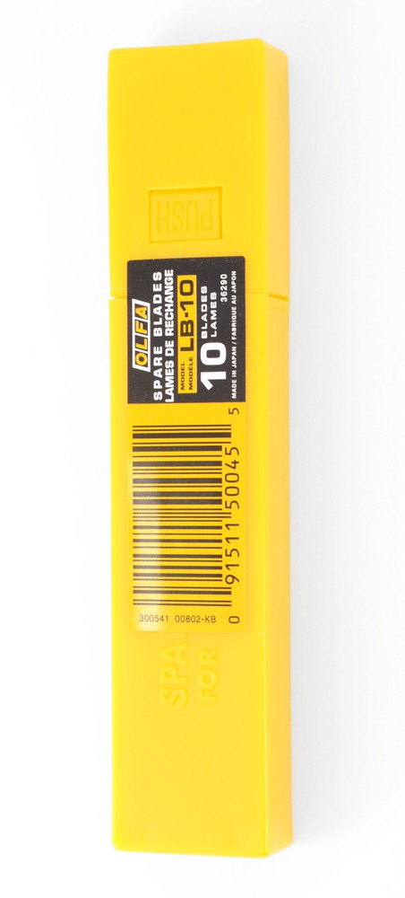 Repuesto universal 18mm. amarillo