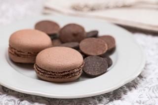 Macaron chocolate 1 u