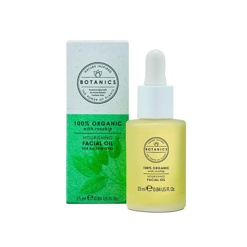 Aceite organic facial