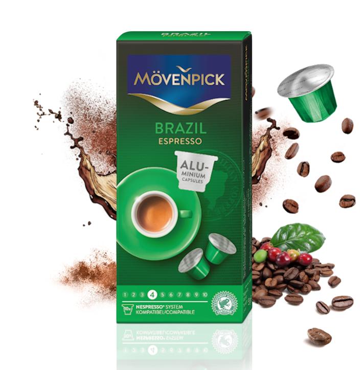Café en cápsulas brazil espresso para Nespresso®