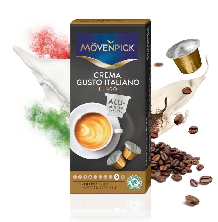 Café en Cápsulas Crema Gusto Italiano  Lungo para Nespresso®
