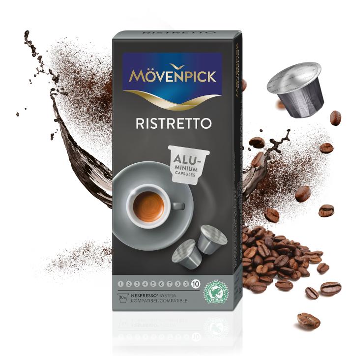 Café en cápsulas ristretto para Nespresso®