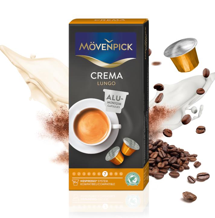 Café en cápsulas crema lungo para Nespresso®