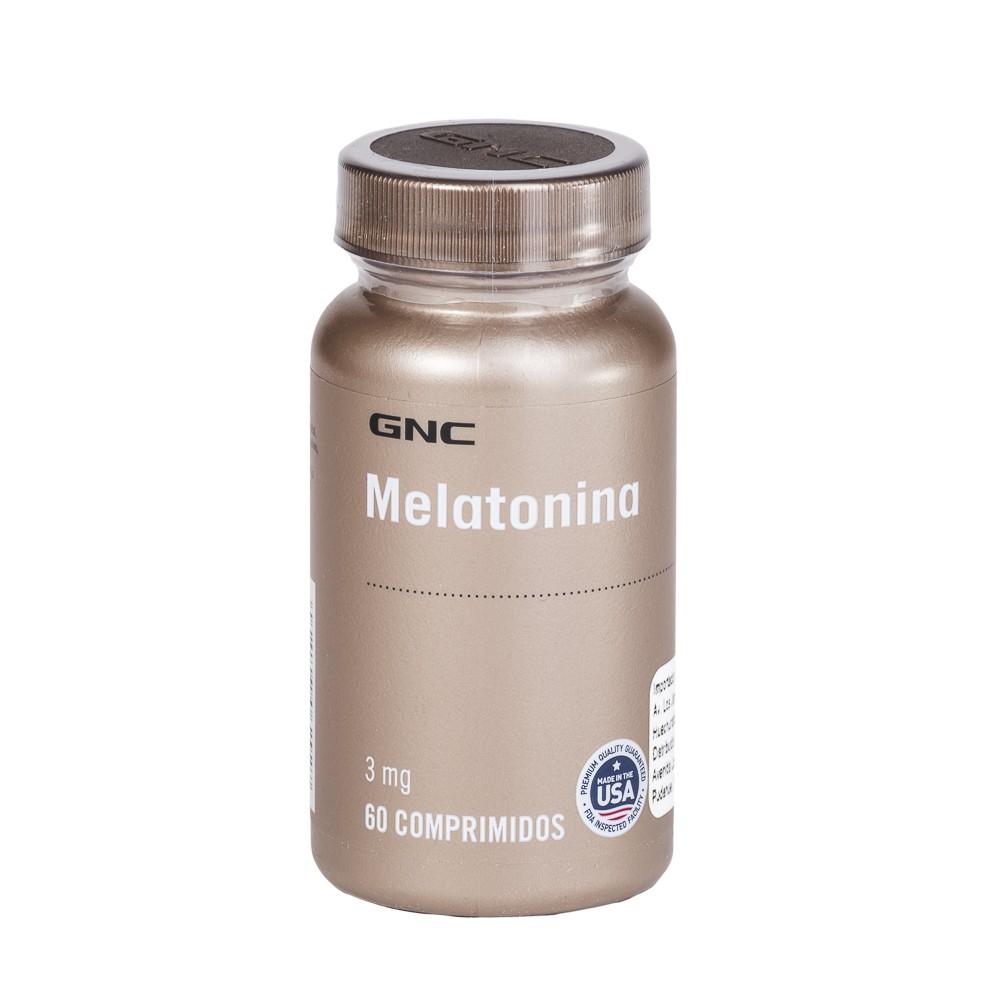 Gnc Melatonina 3 Mg Comprimidos