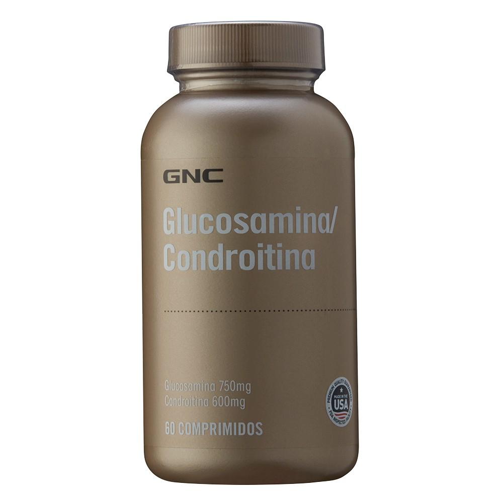 Gnc Glucosamina Condroitina 750 Mg/600 Mg Comprimidos