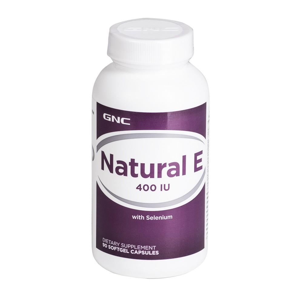 Vitamina E Natural 400ui Con Selenio