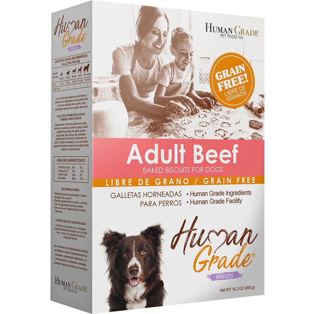 Adult beef galletas para perros