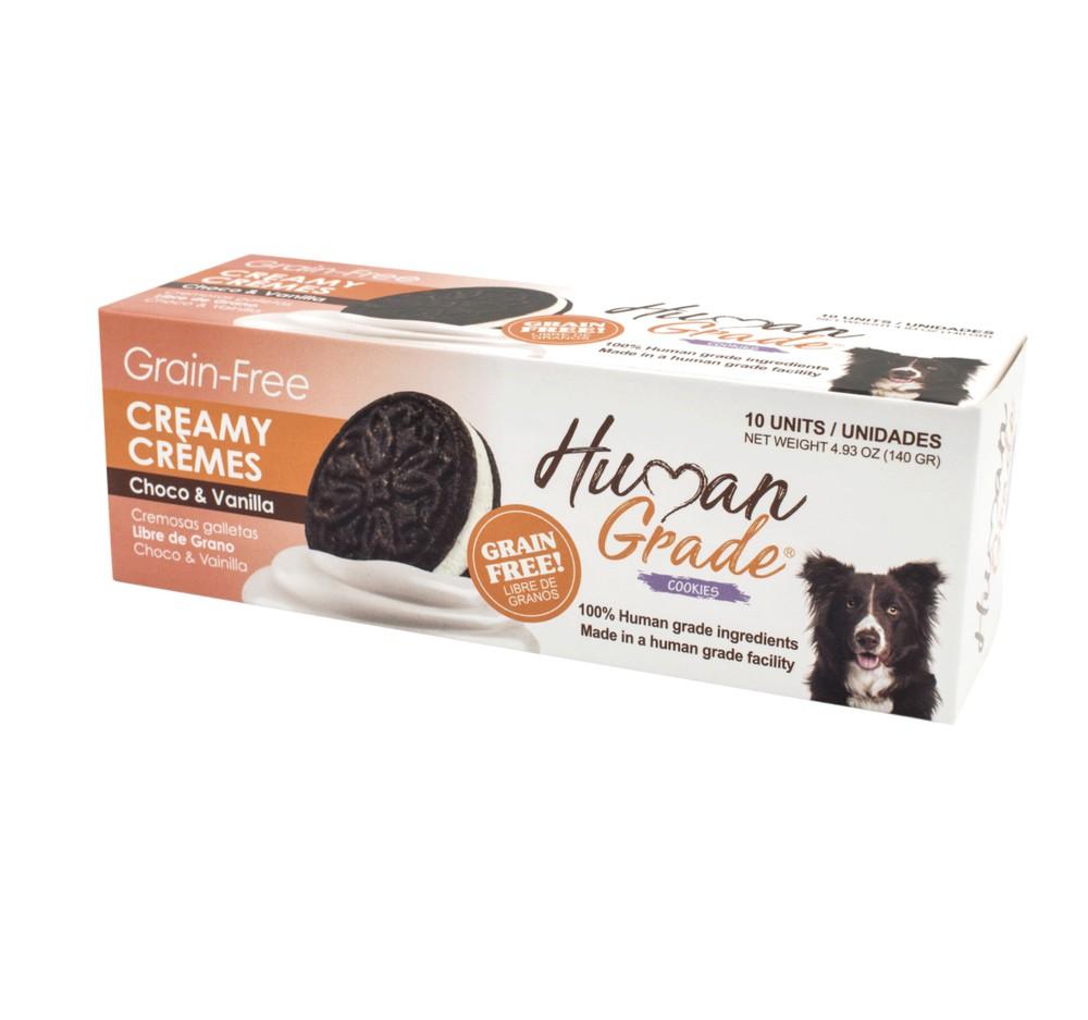 Creamy cremes choco vainilla grain free