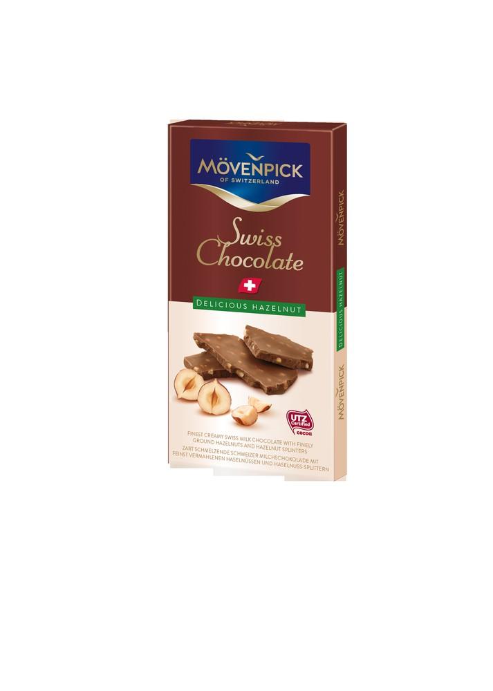 Chocolate delicious hazelnut