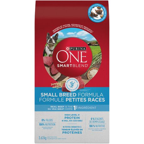 Smartblend small breed dog food beef