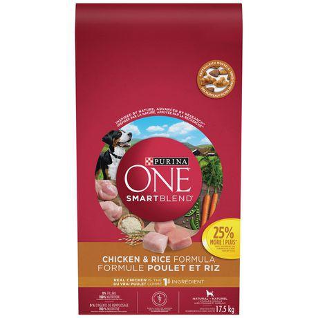 Smartblend natural dog food chicken & rice