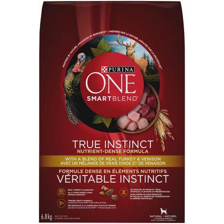 True instinct natural dog food turkey & venison