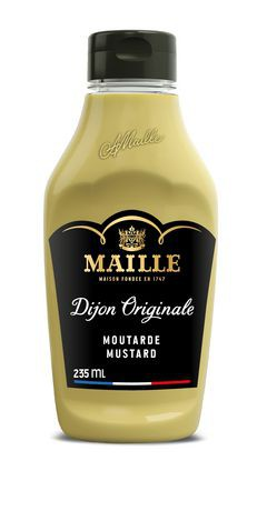 Original dijon mustard squeeze
