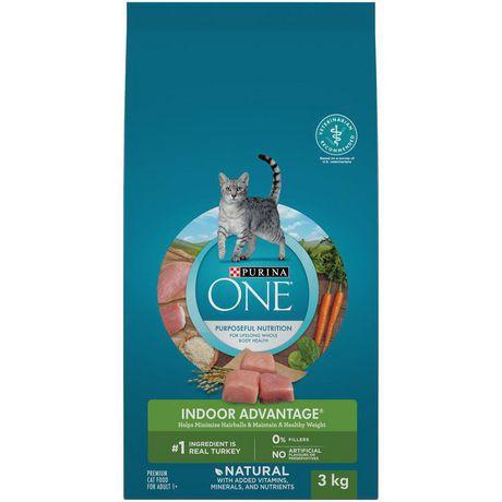 Natural cat food indoor advantage