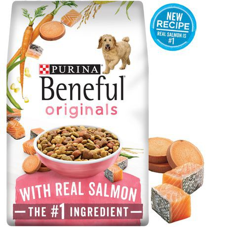 Originals with real salmon dog food
