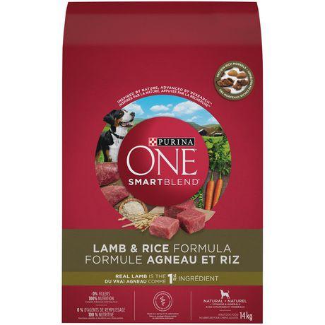 Smartblend natural dog food lamb & rice