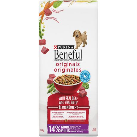 Originals dog food originals with beef