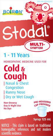 Stodal syrup homeopathic for cold & cough